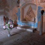 Essonne/Milly la Forêt/Chapelle Saint Blaise des Simples/Tombe Jean Cocteau